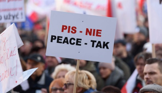Protests across Poland demand free media