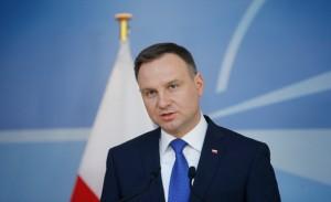 Prezydent Andrzej Duda fot. Oliver Hoslet