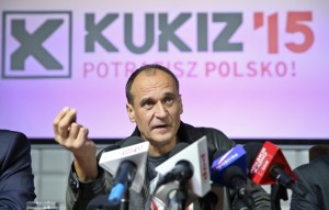 Kukiz'15 leader Paweł Kukiz  fot.Rafał Guz/EPA
