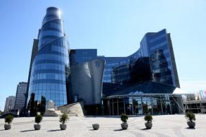 Gmach TVP przy Woronicza fot.Leszek Szymanski/EPA