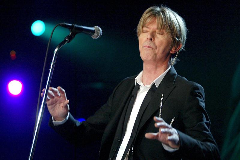 David Bowie for.Fabrice Coffrini/EPA