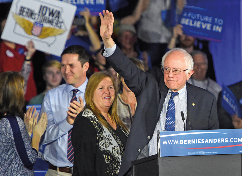 Bernie Sanders fot.Larry W. Smith/EPA
