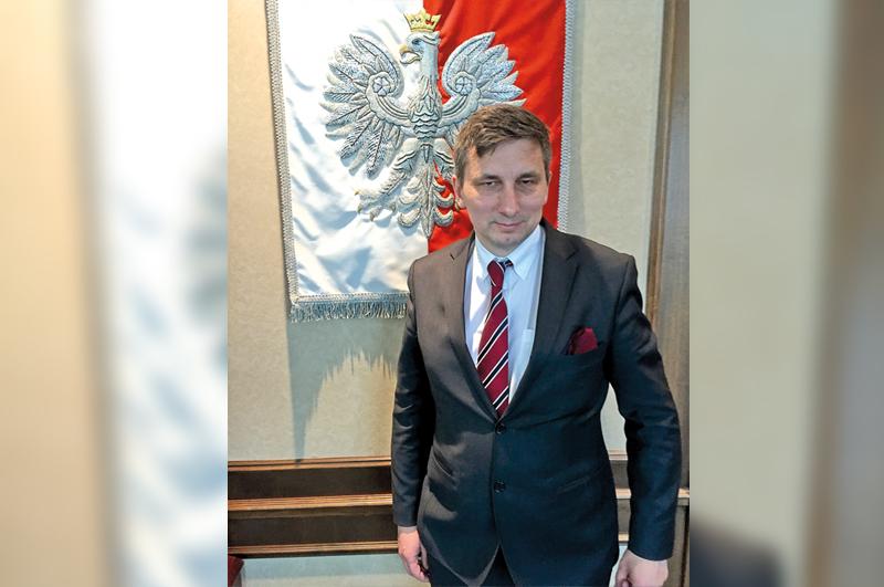 """Marek Różycki sekretarz generalny Stowarzyszenia """"Wspólnota Polska"""" fot. A. Kazimierczak"""