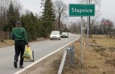 Bernie Sanders father's home village Slopnice in Poland
