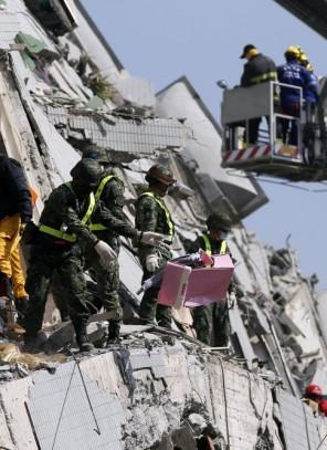 Już 29 ofiar śmiertelnych trzęsienia ziemi na Tajwanie