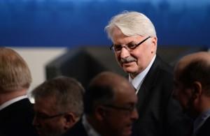 Minister Witold Waszczykowski fot.Andreas Gebert/EPA
