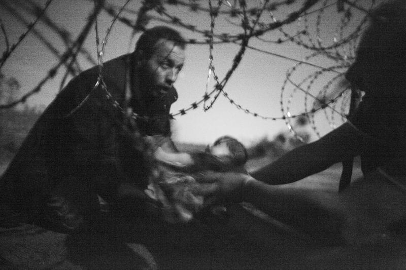 Zdjęcie Warrena Richardsona, które wygrało World Press Photo 2016  fot.Warren Richardson/World Press Photo/EPA