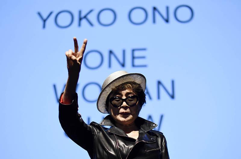 Yoko Ono fot.Justin Lane/EPA