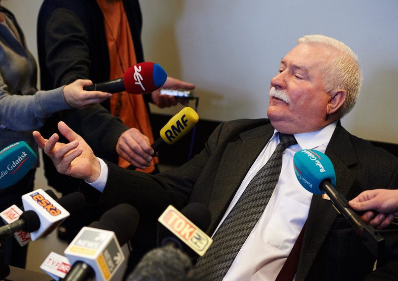 Lech Wałęsa fot.Adam Warzawa/EPA