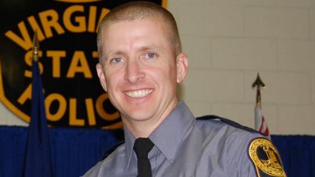37-letni policjant Chad Dermyer zmarł w wyniku odniesionych ran fot. Virginia State Police