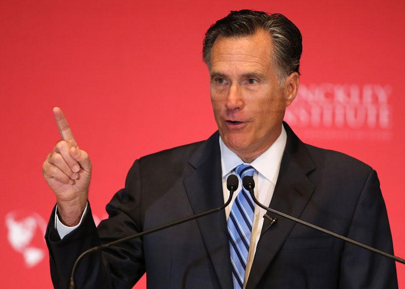 Mitt Romney fot.Tom Smart/EPA