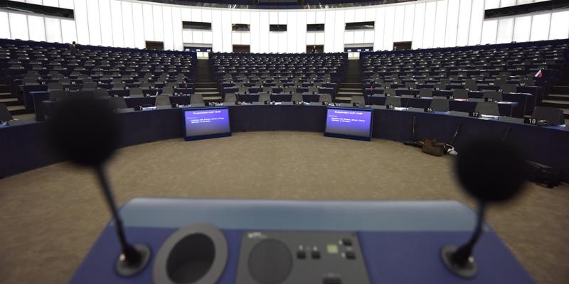 Parlament Europejski fot.Patrick Seeger/EPA