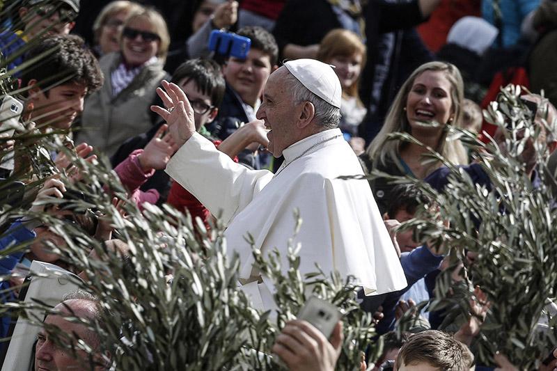 Papież Franciszek fot.Giuseppe Lami/EPA