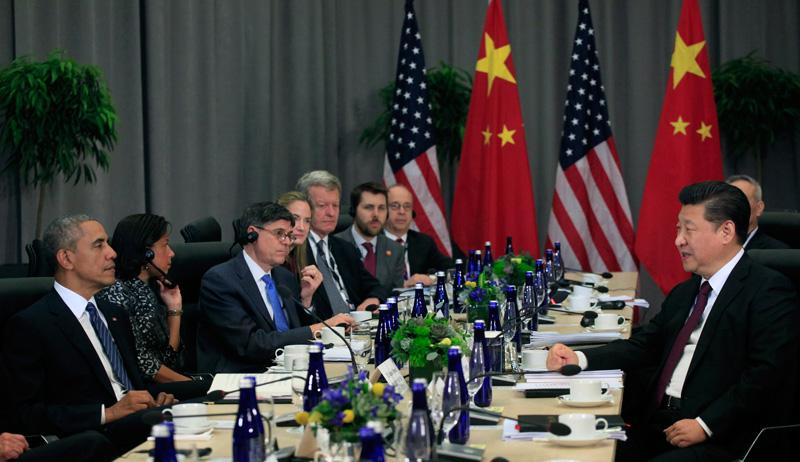Rozmowy USa - Chiny fot.Dennis Brack/Pool/EPA