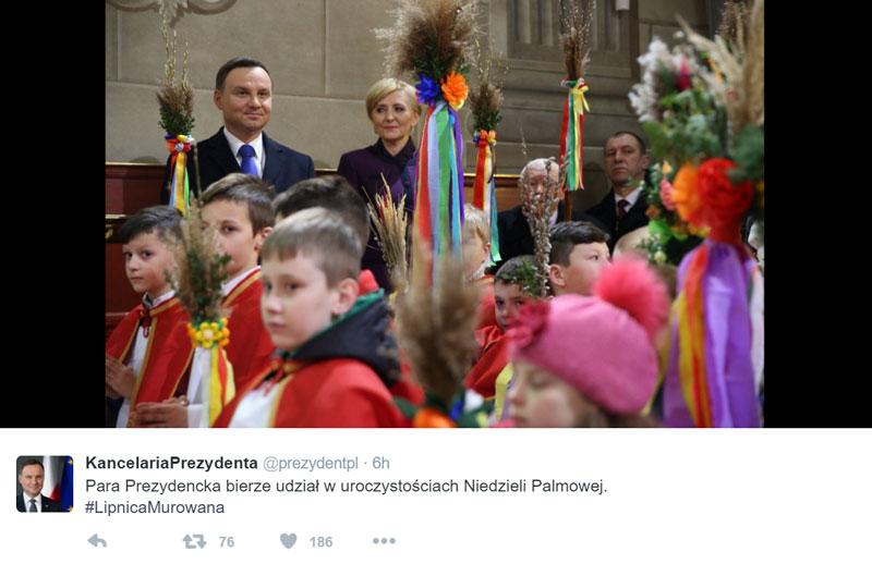 fot. Kancelaria Prezydenta/Twitter