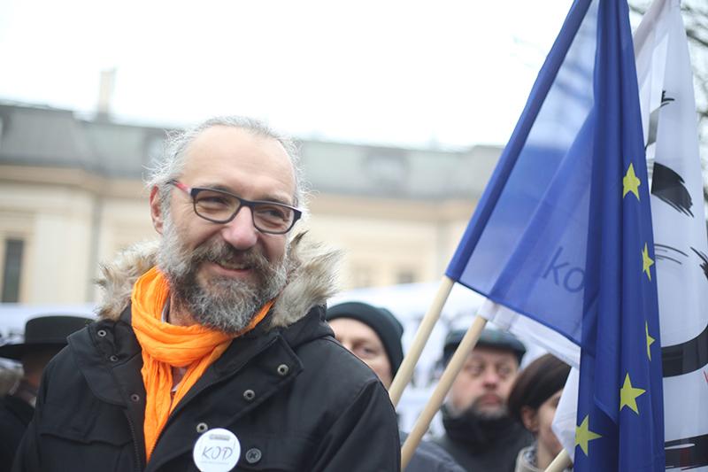 Mateusz Kijowski fot.Leszek Szymański/EPA