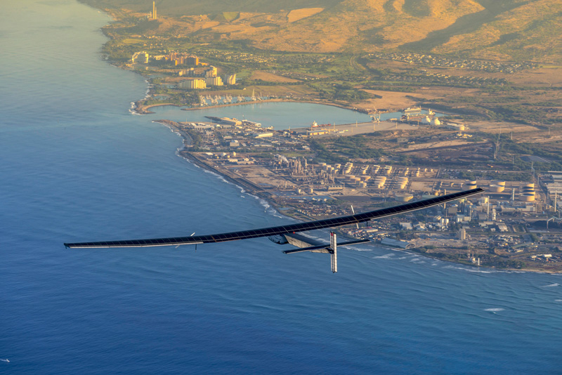 Solar Impulse 2 fot.Jean Revillard/EPA