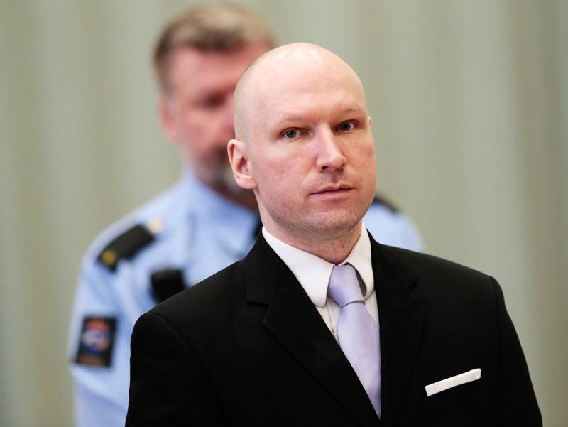 Anders Breivik fot.Lise Aserud/EPA