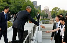US President Obama visits Hiroshima
