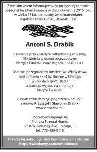 Antoni-S-Drabik-Obit