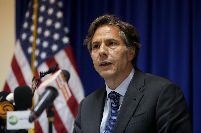 Antony Blinken fot.Lynn Bo Bo/EPA