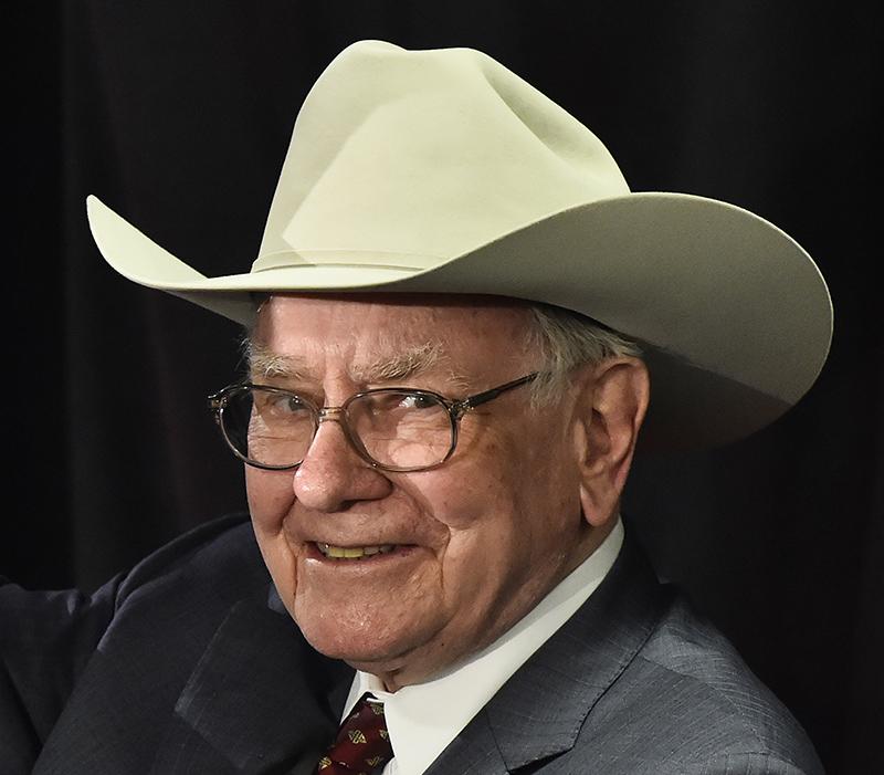 Warren Buffett fot.Larry W. Smith/EPA