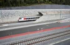 Preview opening of the NRLA Gotthard Base Tunnel