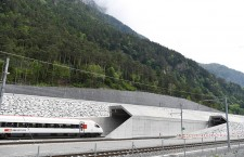 Gotthard rail tunnel opening