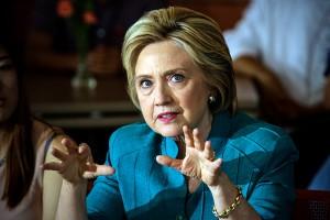 Hillary Clinton fot.Ifran Khan/Pool/EPA