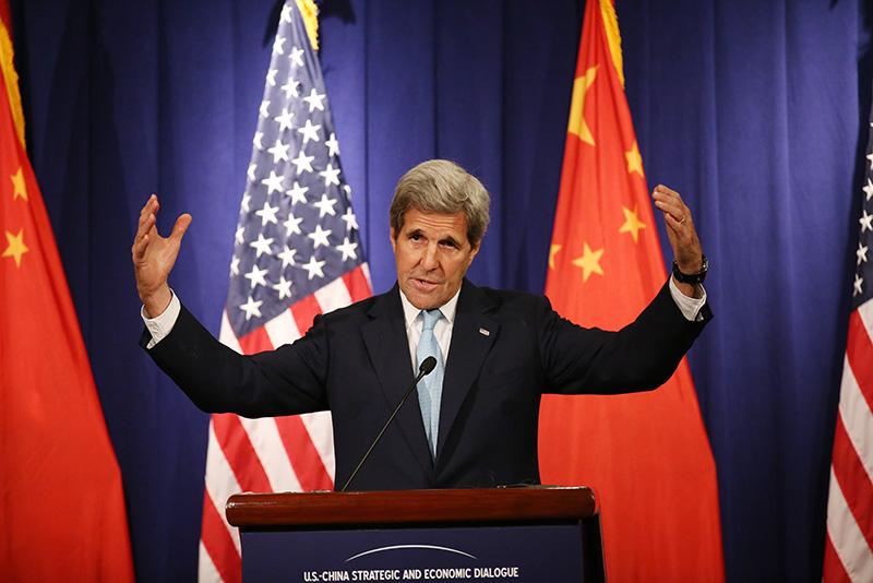John Kerry fot.How Hwee Young/EPA