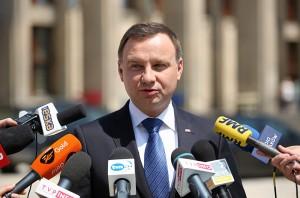 Andrzej Duda fot.Stanisław Rozpędzik/EPA