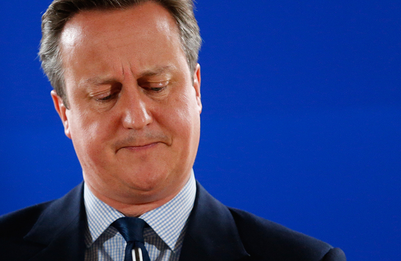 David Cameron fot.Julien Warnand/EPA
