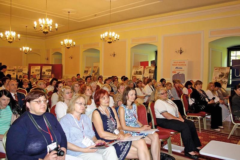 Uczestnicy Światowego Zjazdu Nauczycieli Polonijnych fot.Ośrodek Doskonalenia Nauczycieli Stowarzyszenia Wspólnota Polska Facebook