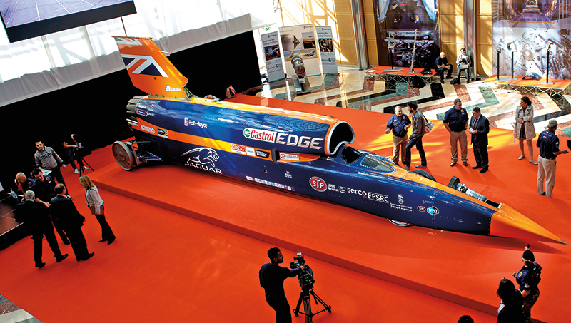 The Bloodhound SSC fot.Will Oliver/EPA
