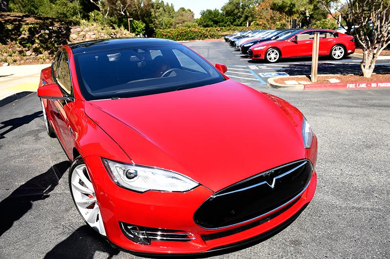 Tesla Motors Model S  fot.John G. Mabanglo/EPA