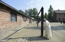 Pope Francis in Auschwitz