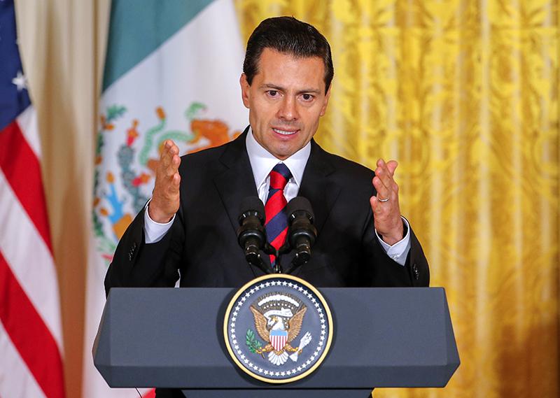 Enrique Pena Nieto fot.Erik S. Lesser/EPA