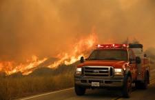 Sand Fire near Los Angeles