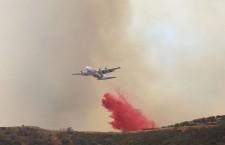 Sand Fire burns in California