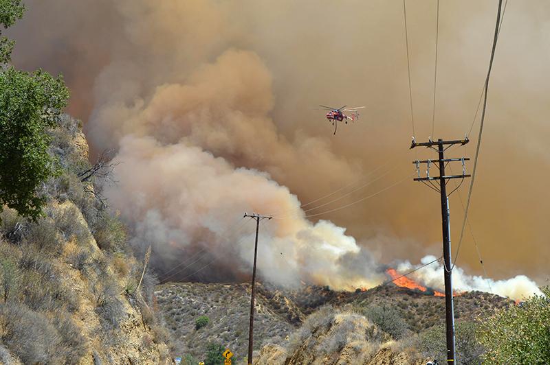 fot.Socal Fire/Handout/EPA