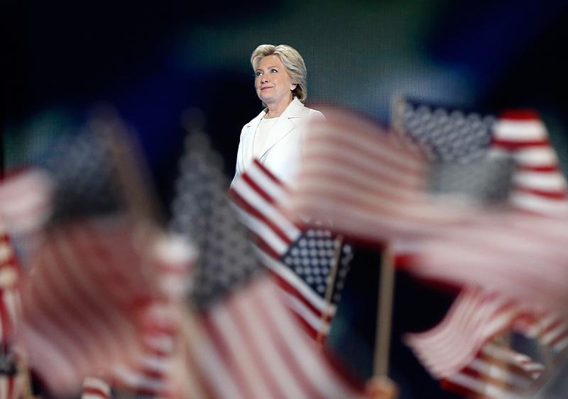 Hillary Clinton fot.Justin Lane/EPA