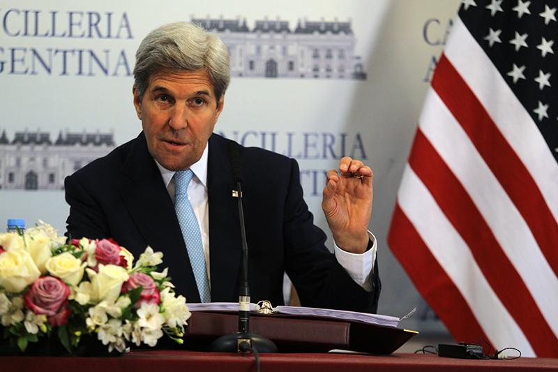 John Kerry fot.Alberto Ortiz/EPA