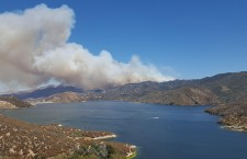 Evacuations ordered as Pilot Fire burns near Silverwood Lake in San Bernardino County, California
