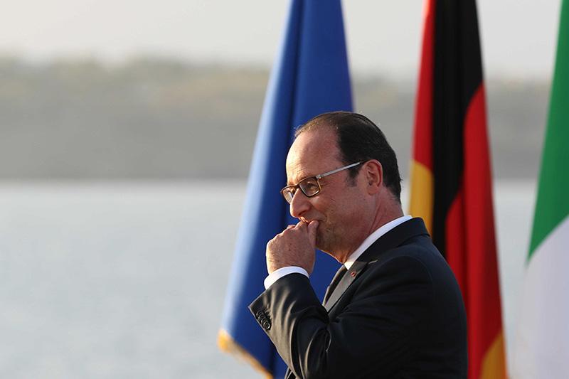 Francois Hollande fot.Cesare Abbate/EPA