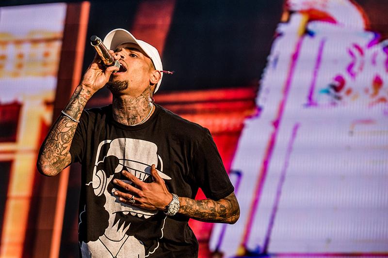 Chris Brown fot.Zoltan Balogh/EPA