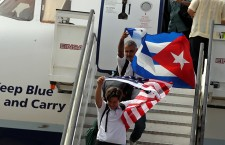 First commercial flight from USA to Cuba in 55 years