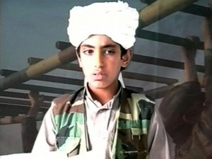 Hamza bin Laden fot.YouTube.com
