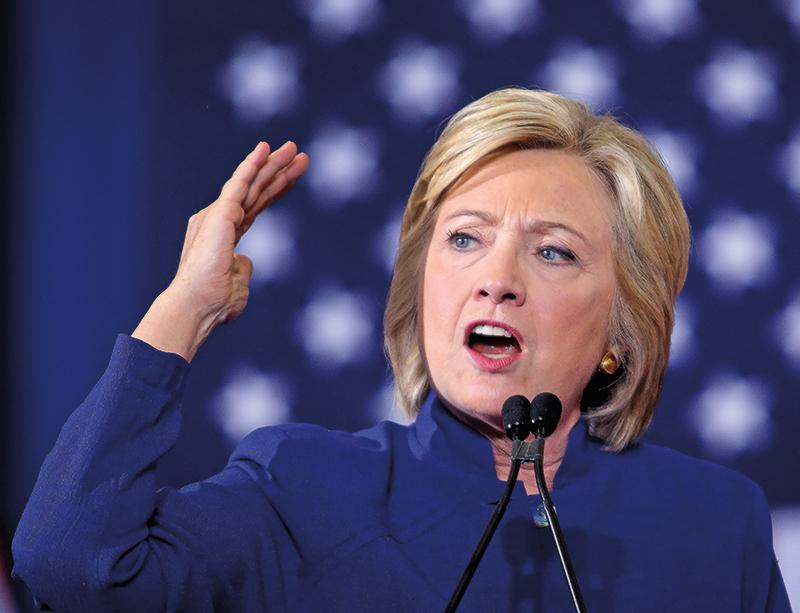 Hillary Clinton fot.Cristobal Herrera/EPA