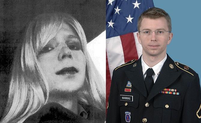 Chalsea Manning wcześniej znan jako Bradley Manning fot. Wikipedia/US Army