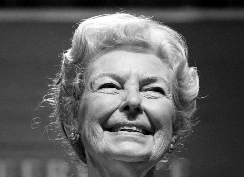 Phyllis Schlafly  fot.Gage Skidmore/Wikipedia